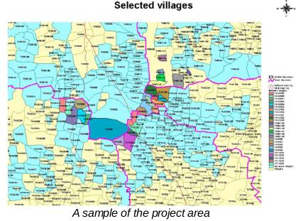 Selection of villages for Implementation of Bioenergy based power systems